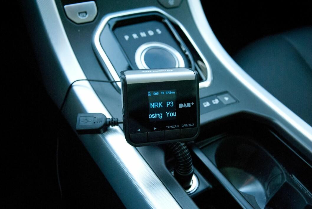 NI TIPS: Husk å sjekke at DAB-adapteren er montert riktig. Foto: Tore Guriby