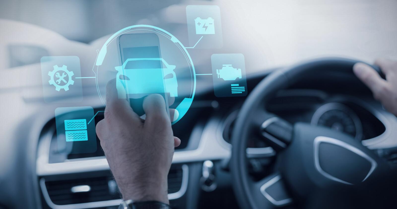 KOBLES TIL INNTEKTER: Kunnskap om våre kjørevaner er en gullgruve for mange.