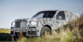 Nå kaster også Rolls-Royce seg på SUV-bølgen