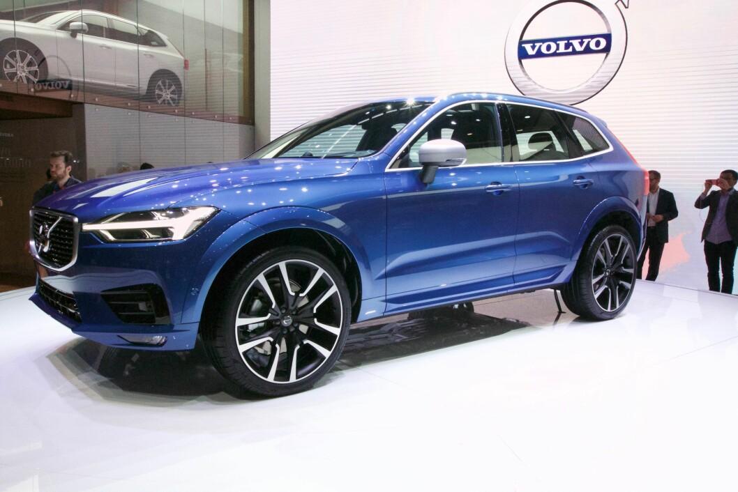 SALGSVINNER: Norske kunder har bestilt 800 biler av Volvo XC60 plug-in hybrid på under tre uker.