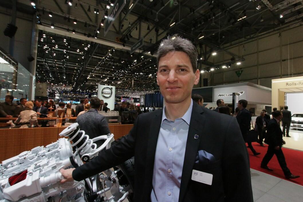 SPENT: Olle Fast, prosjektleder for drivlinjer i Volvo Cars.