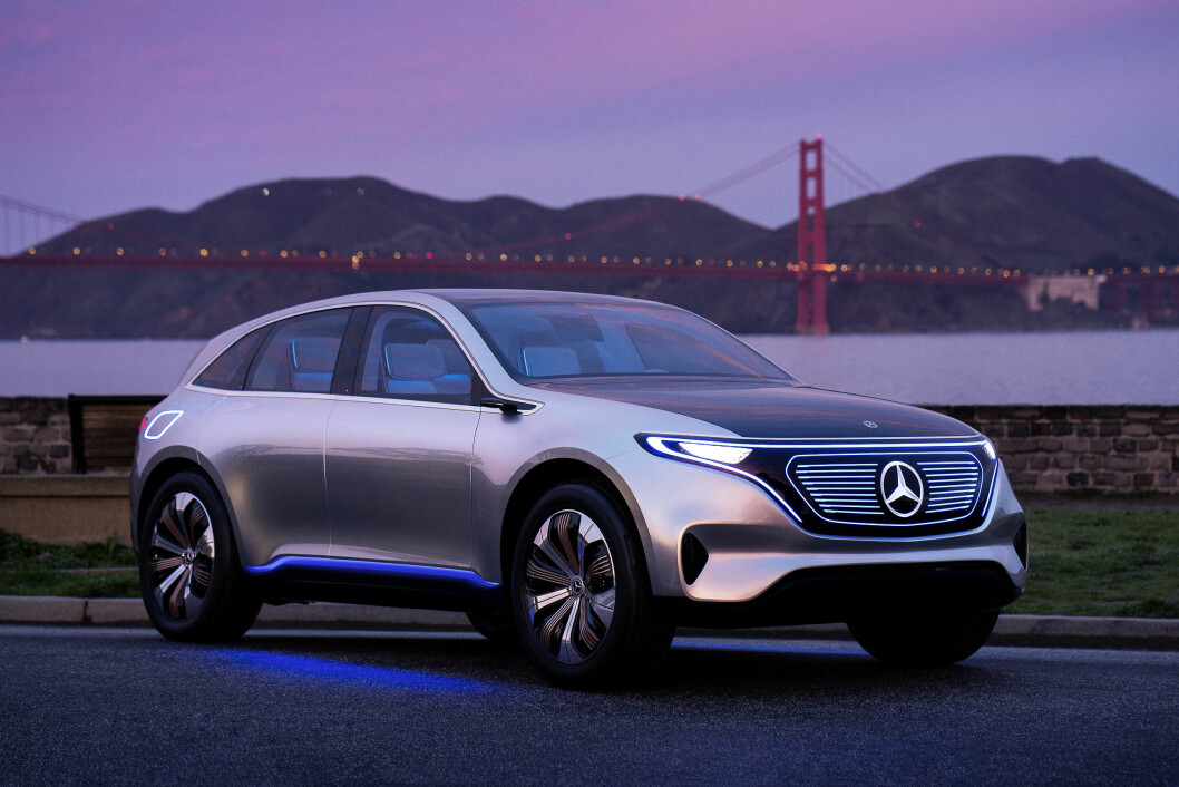 NESTE STJERNE: Mercedes EQ blir trolig det elektriske bidraget fra Daimler i 2018.