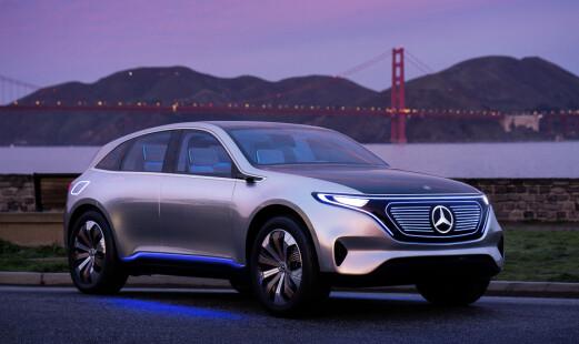 Skal bruke over 90 milliarder på e-Mercedes