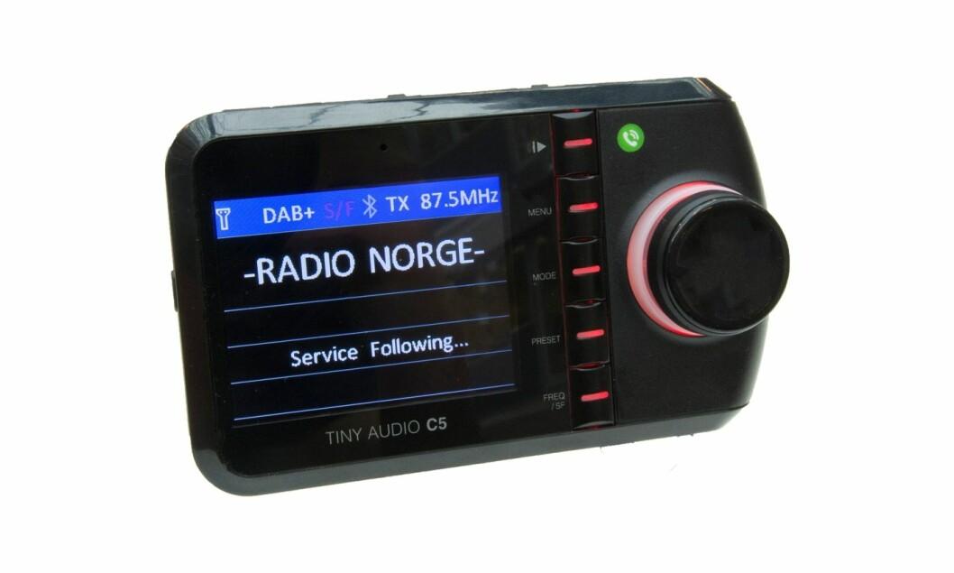 VINN DAB+ADAPTER: Tiny Audio C5-adapteren er kåret til «Best i test» hos Lyd & Bilde og TV2.