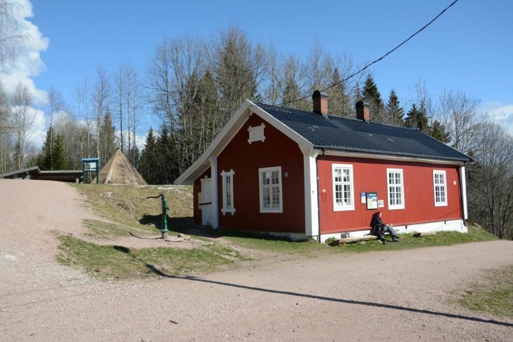 I MARKA: Fra Drafnkollen er det kort vei til Blektjernstua og skogene innenfor.