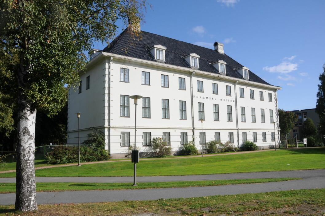 HISTORIE: Drammens museum er byens viktigste kulturminne og har avdelinger flere steder.