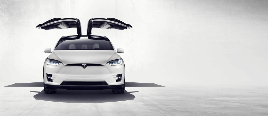 BUDSJETT-TAPER: Tesla Model X