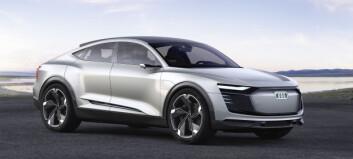 På tre dager forhåndsbestilte 1500 nordmenn Audis nye, elektriske luksus-SUV