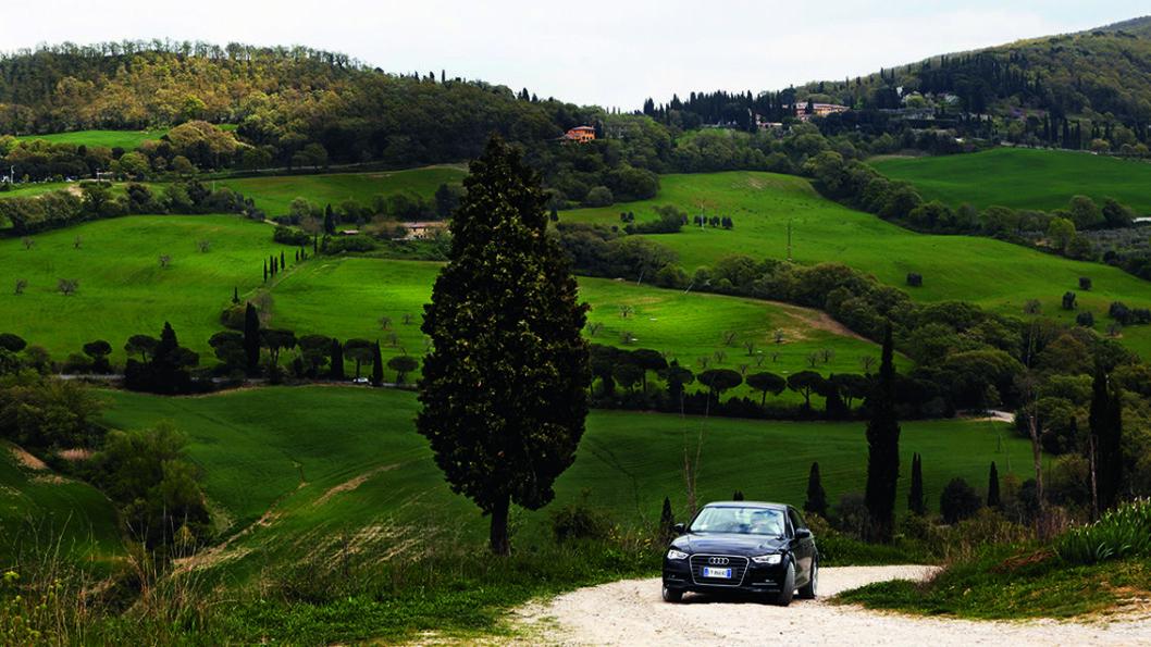 LITT UTENFOR ALLFARVEI: Toscana er en turistmagnet, men vi har funnet frem til perler som ikke er så fulle av turister. Foto: Kristin Svorte