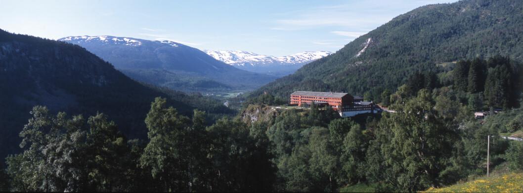 NASJONALROMANTIKK: Utsiktene ved Stalheim Hotel er også maleriske.