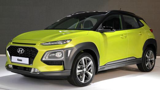 Hyundai tror på storsalg av ny små-SUV