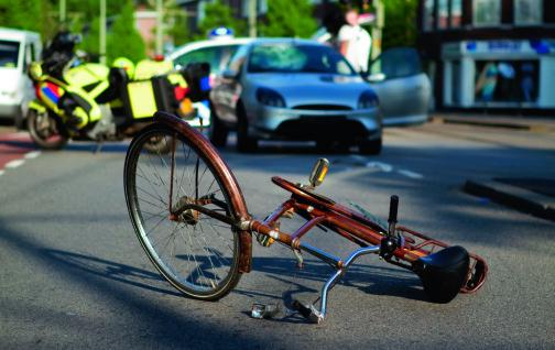 Fem prosent av trafikken, 50 prosent av skadene
