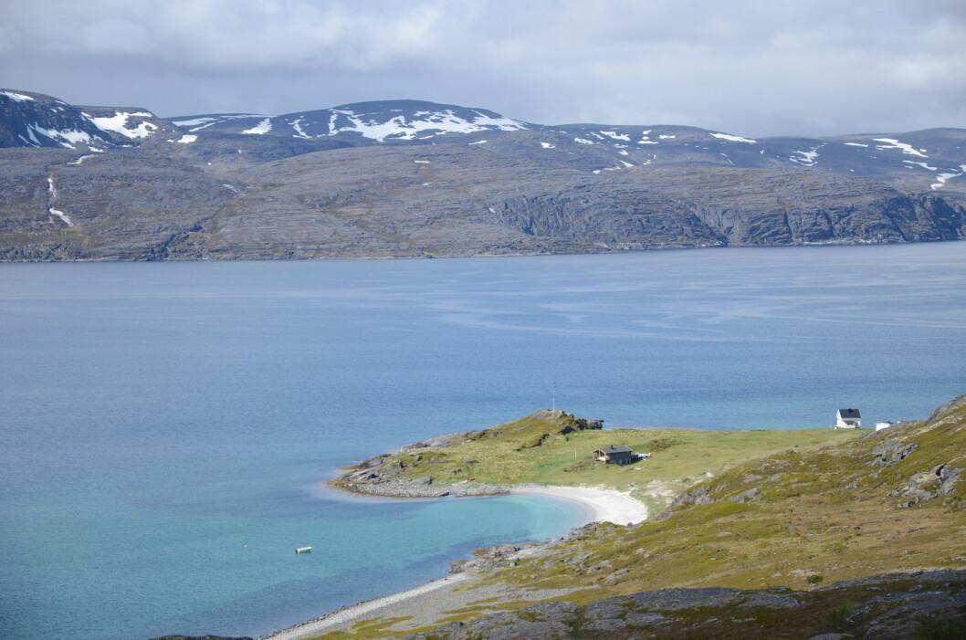 STASELIG UTSIKT: Snefjorden i Måsøy kommune