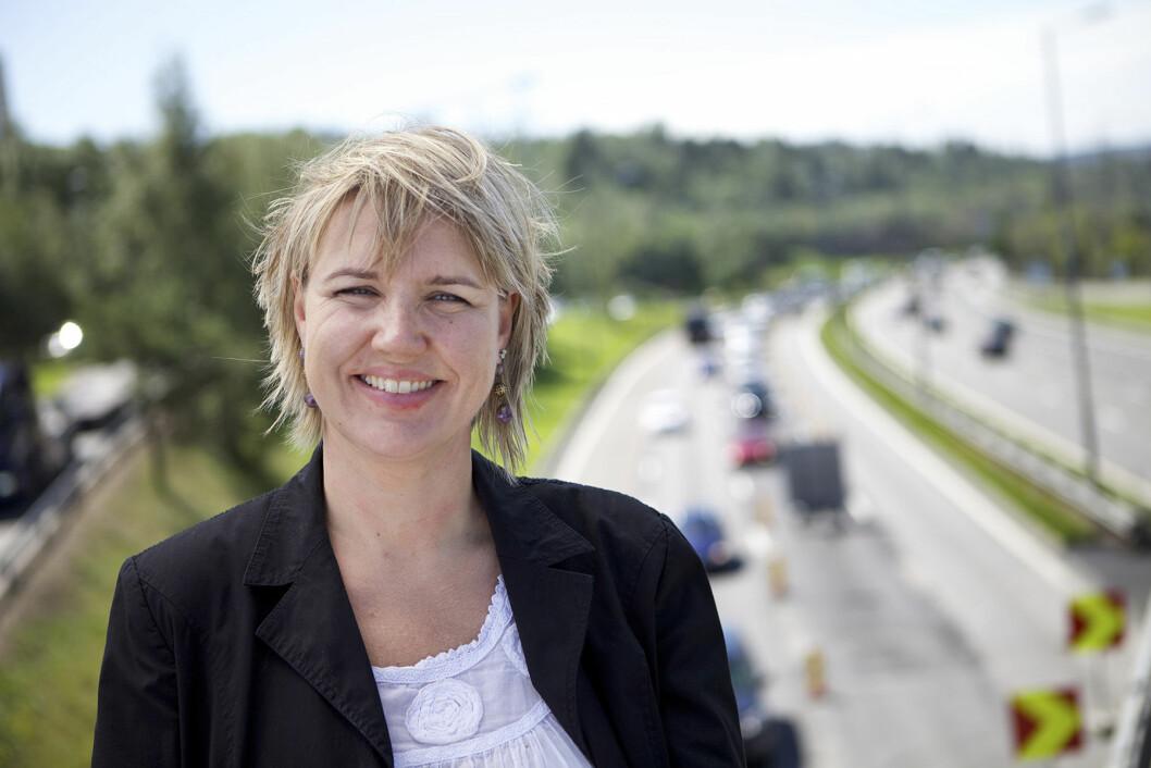 PROVOSERT: – Bilistene har hverken innvirkning, påvirkning eller skyld i dette, sier kommunikasjonssjef Inger Elisabeth Sagedal i NAF. Foto: NAF