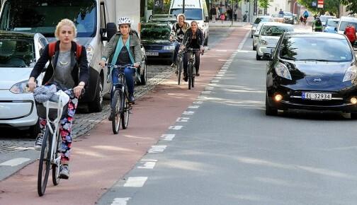Slik skal det bli tryggere å sykle i storbyene