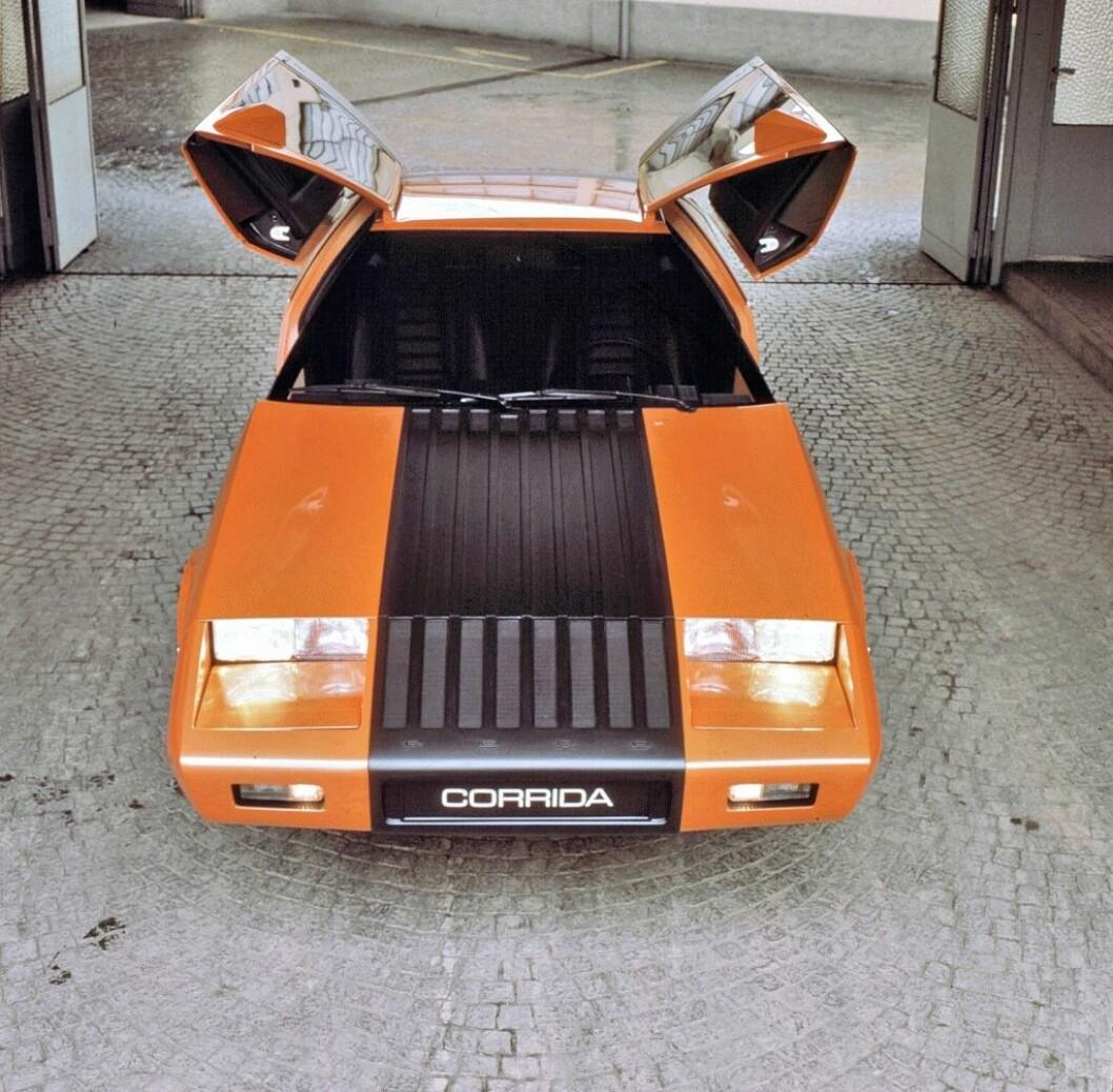 DRØM ELLER MARERITT: Fords designere har fått utfolde seg med mange rare Fiesta-konsepter siden starten i 1974. Som denne Corrida sportsbilen. Foto: Ford