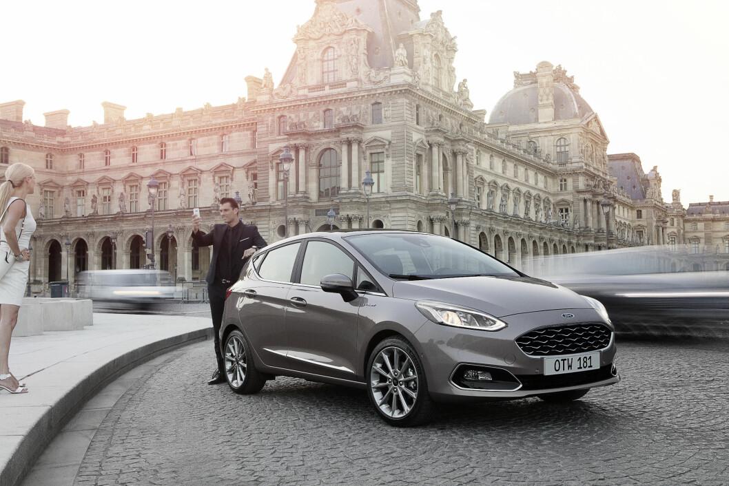 STØRRE: Nye Ford Fiesta, som kommer til Norge om et par uker, blir større og mer komfortabel. Foto: Ford