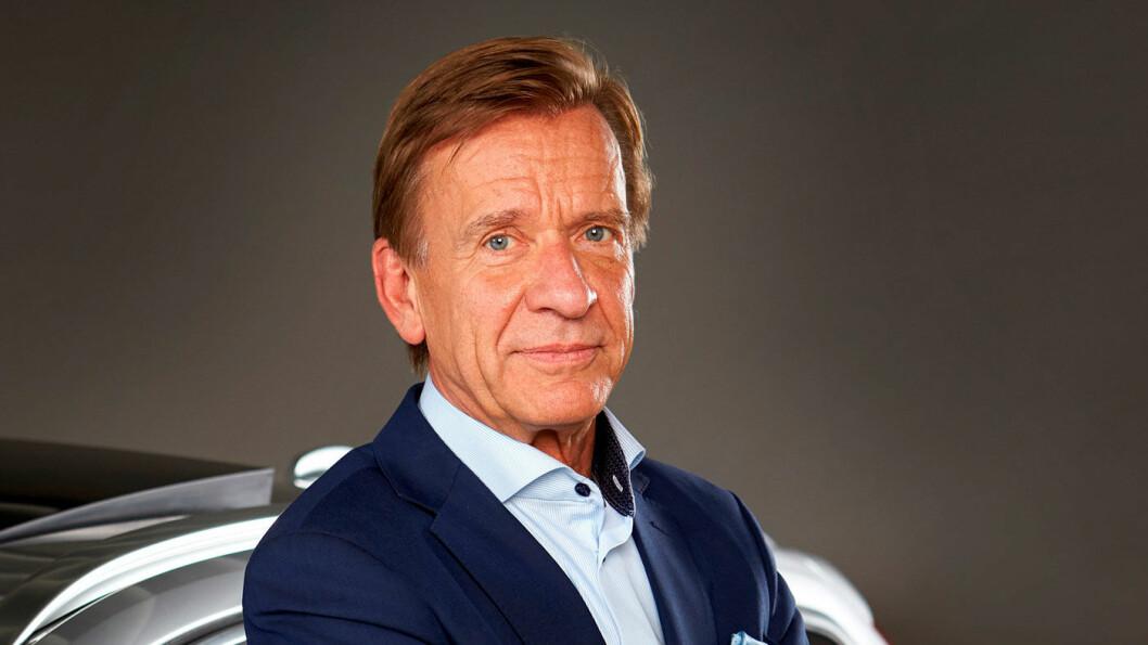 ELEKTRISK: Volvo-sjef Håkan Samuelsson.