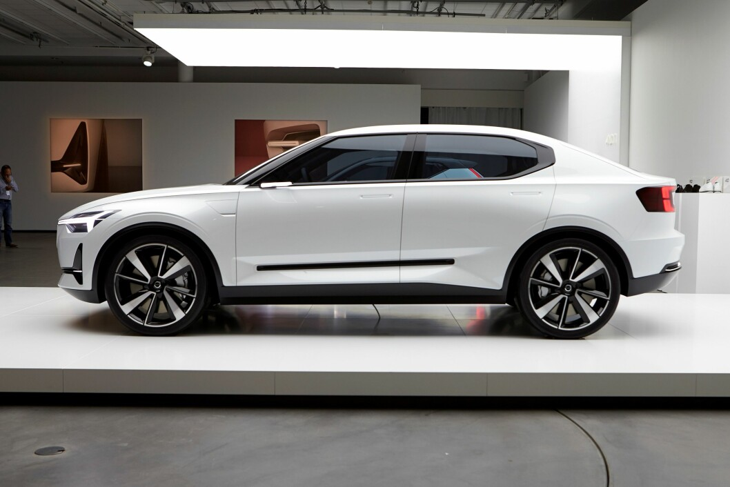 OGSÅ KOMBI: Den nye 40-serien til Volvo vil også inneholde en kombi-bil og en ren elektrisk bil.