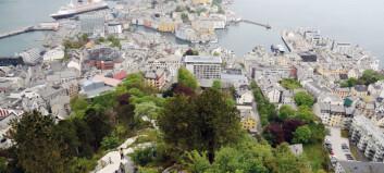 418 trappetrinn til panoramautsikt