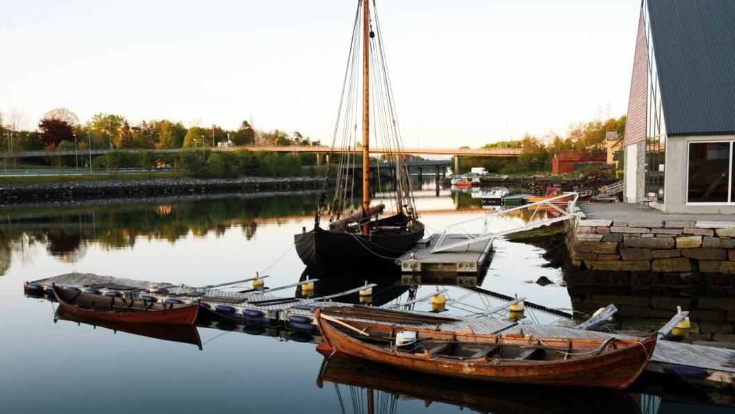 HISTORISK: Sunnmøre Museum ved Nørvasundet har også en flott samling av gamle båter.