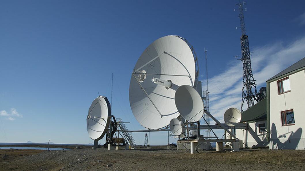 Isfjord Radio, i sin tid et viktig knutepunkt for kommunikasjon med fastlandet.