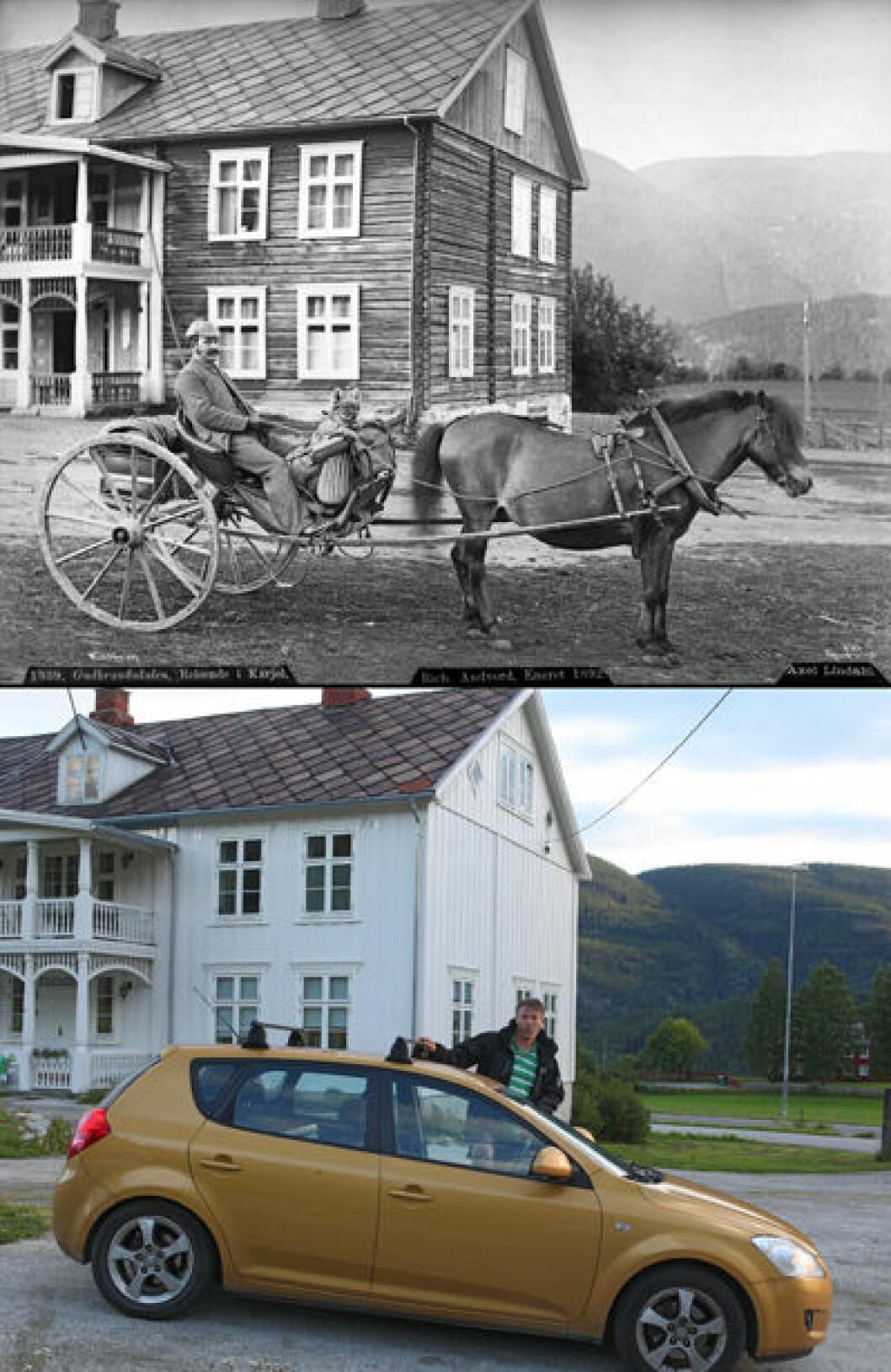 1886 og 2016: Listad i Sør-Fron i Gudbrandsdalen, Oppland. Foto: Axel Lindahl/Oscar Puschmann