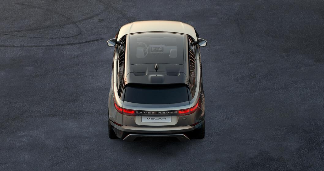 MILLION-KLASSEN: Velar er Range Rovers nye SUV i luksusklassen. Foto: Produsenten