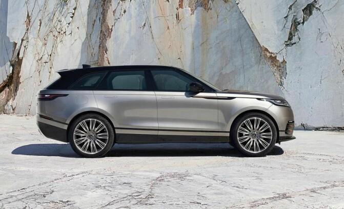 Jaguar Land Rover vil bruke hydrogen på store SUV-er