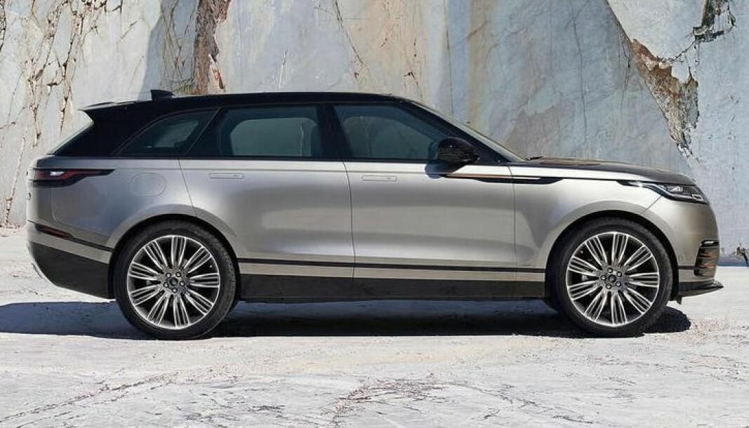 PASSE STØRRELSE: Range Rover Velar er SUV-typen Jaguar Land Rover mener hydrogen kan passe godt for.