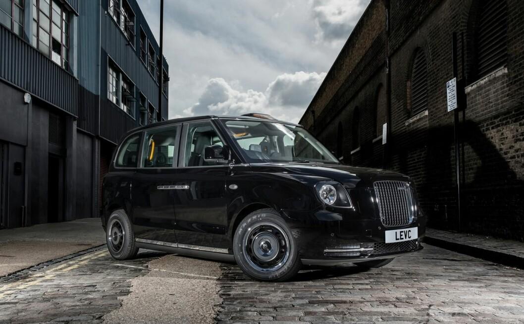 MER KOMFORT: I tillegg til at den er elektrisk, skal nye London Black Cab også gi mer komfort til passasjerene. Foto: LEVC