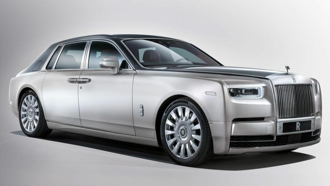 STILIG VOGN: Er åttende generasjon av Rolls-Royce Phantom verdens mest luksuriøse bil? Foto: Rolls-Royce Motor Cars