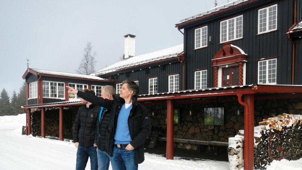 MAT MED UTSIKT: Grefsenkollen restaurant gir også god oversikt. Foto: Per Roger Lauritzen.