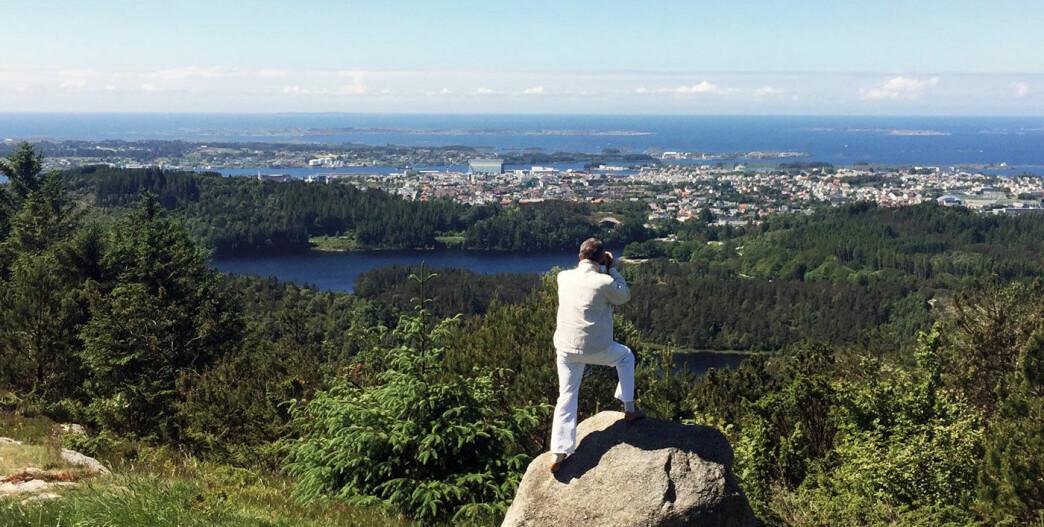 Utsikt mot natur og kulturopplevelser i havgapet