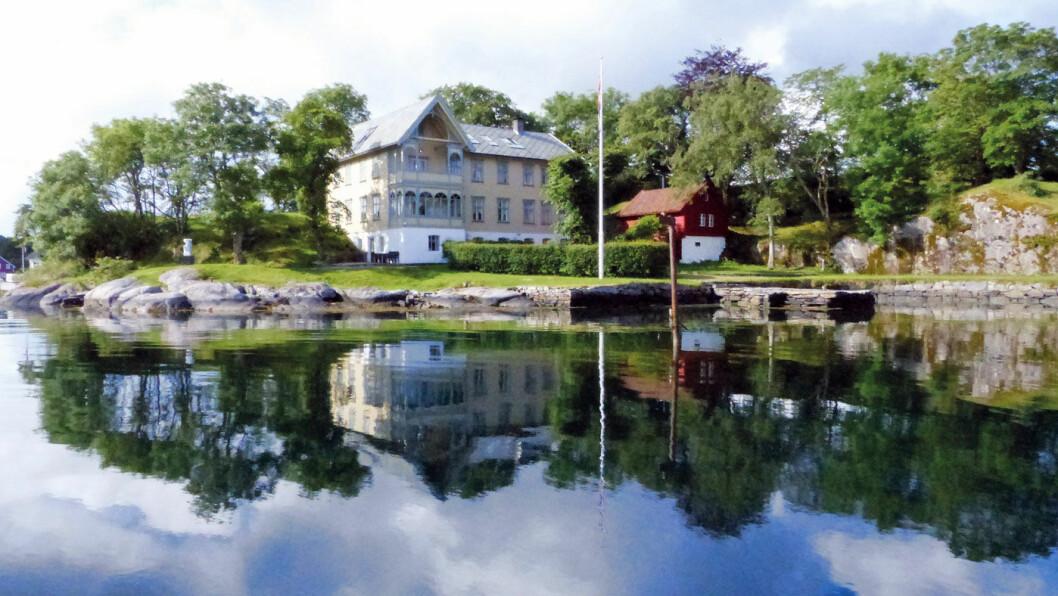 HOTELL: Sveitservillaen fra 1861 er Skjerjehamns smykke.