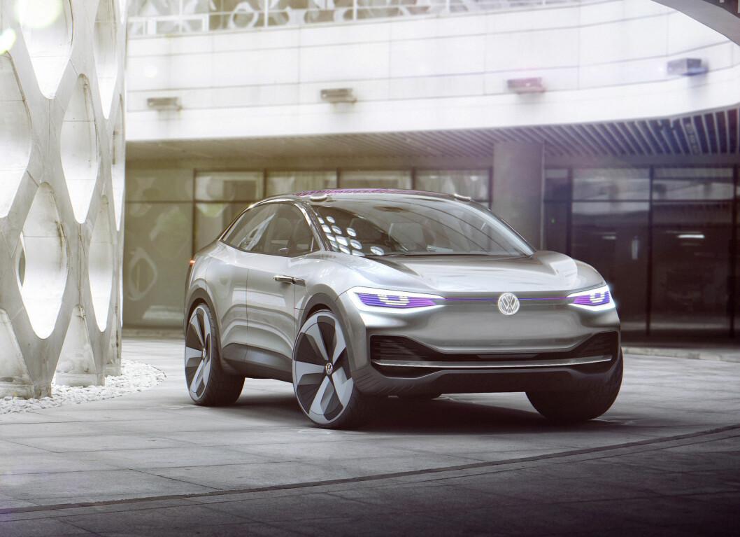 ELEKTRISK SUV: I.D. Crozz blir en elektrisk SUV og kommer på veien sent i 2020, dersom alt går etter planen.