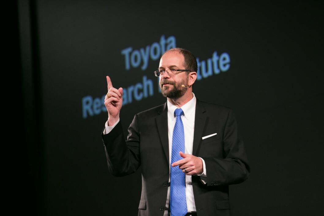 LEKSER OPP: Sjef for Toyota Research Institute, Gill Pratt