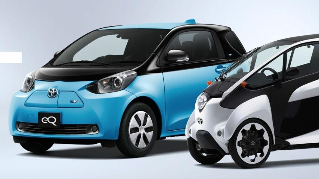 DROPPET ELBIL: Toyota droppet for noen år siden tanken om elbiler til fordel for hydrogenbiler, men jobber nå får fullt for å få batteri-biler på veien. Foto: Toyota