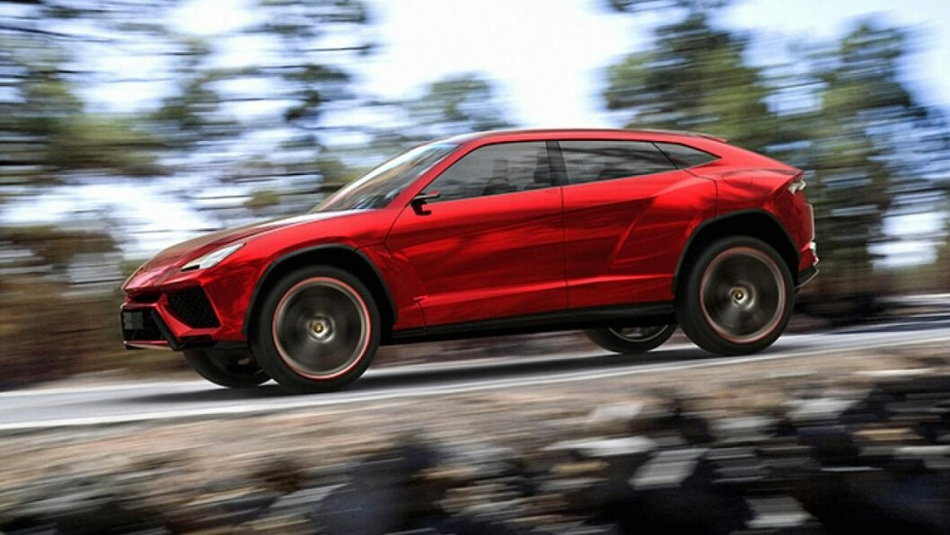 SPORTSLIG: Lamborghini lover at denne SUV-en skal bli like sporty som deres andre sportsbiler.