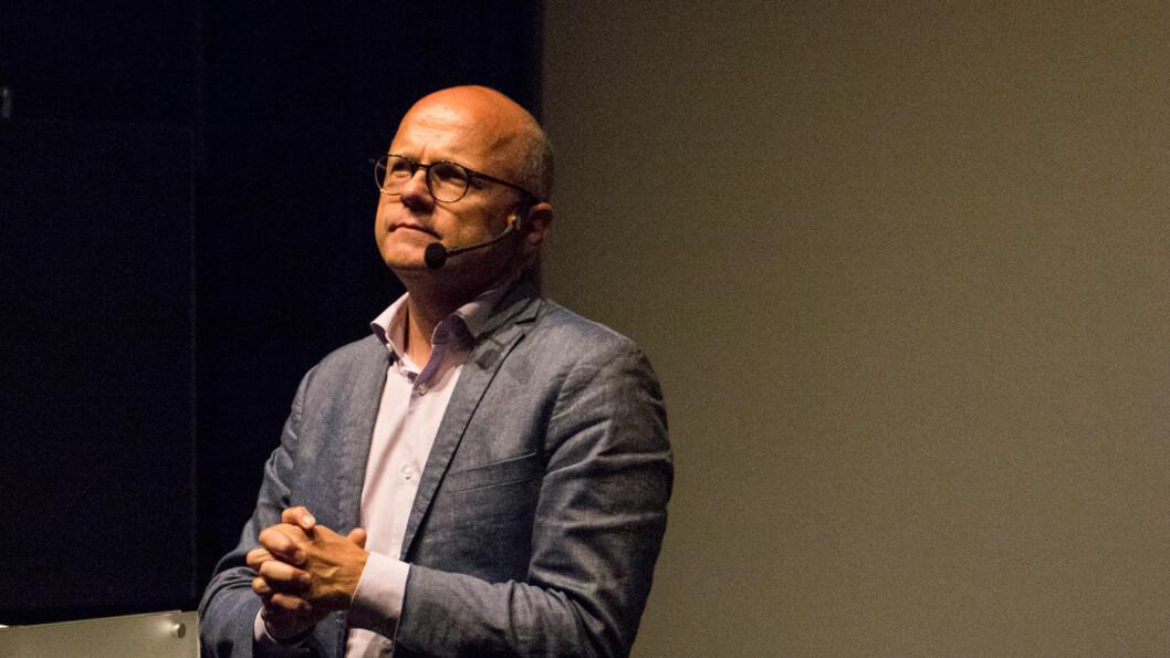 HAR TRUA: –2025-målet om nullutslipp er svært realistisk, sier klima- oig miljøminister Vidar Helgesen. Foto: Peter Raaum