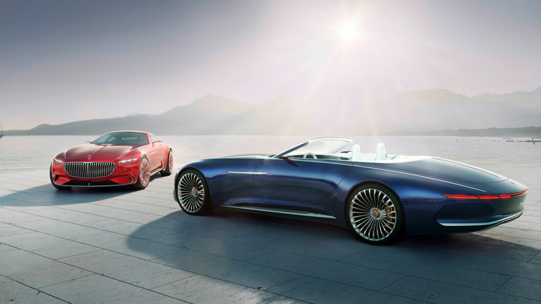 NOE Å VENTE PÅ? Denne kabrioleten, Mercedes Maybach 6 Cabriolet, er en liten smakebit på morgendagens luksus, i følge Daimler AG