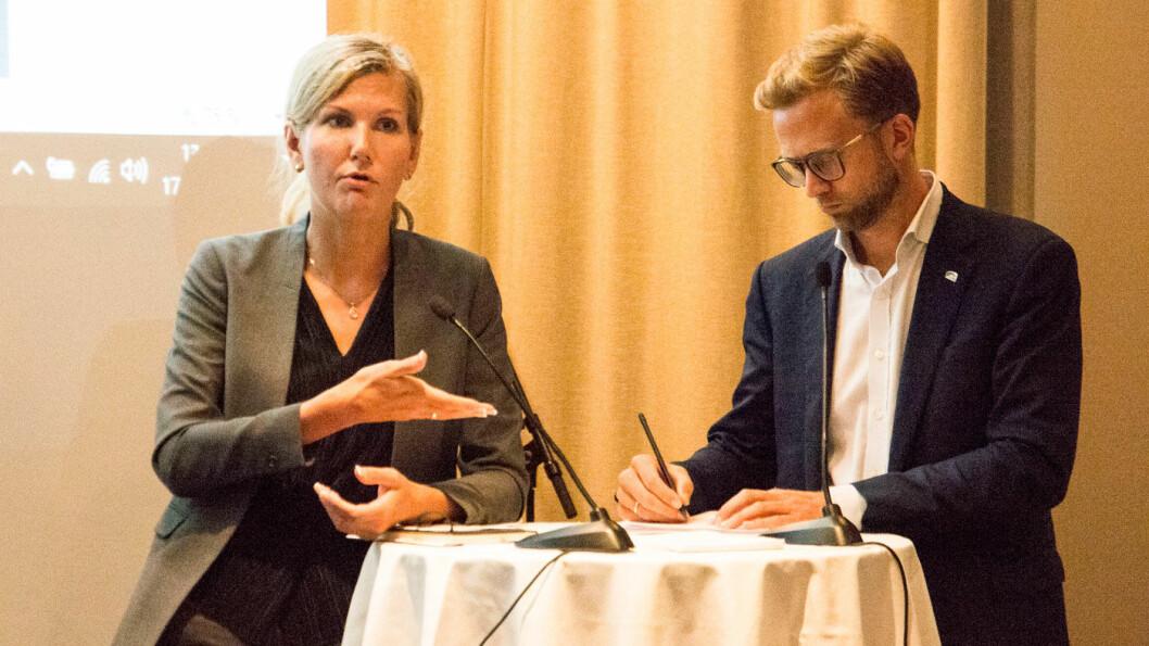 ØKER PANTEN? Marianne Marthinsen (Ap) sier hun liker idéen om økt vrakpant for den som erstatter fossilbilen med en nullutslippsbil. Foto: Peter Raaum