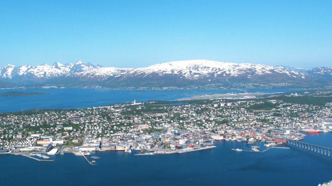 BYPAKKE: Tromsø er en av 23 byer med bypakke-ordning for å finansiere samferdselsutbyggingen. Foto: Peter Raaum