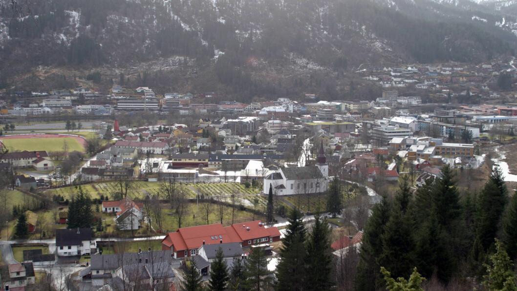 BYPAKKE: Førde er i gang med et bypakke-prosjekt til 1,7 milliarder kroner. Foto: Arild Finne Nybø/Flickr