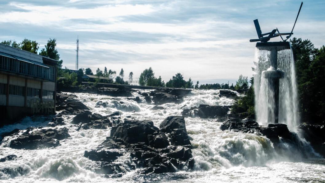 VENTER PAKKE: Hønefoss har utredet mulige konseptvalg, med hovedvekt på tiltak for gående og syklende. Foto: Peter Hamburger/Flickr
