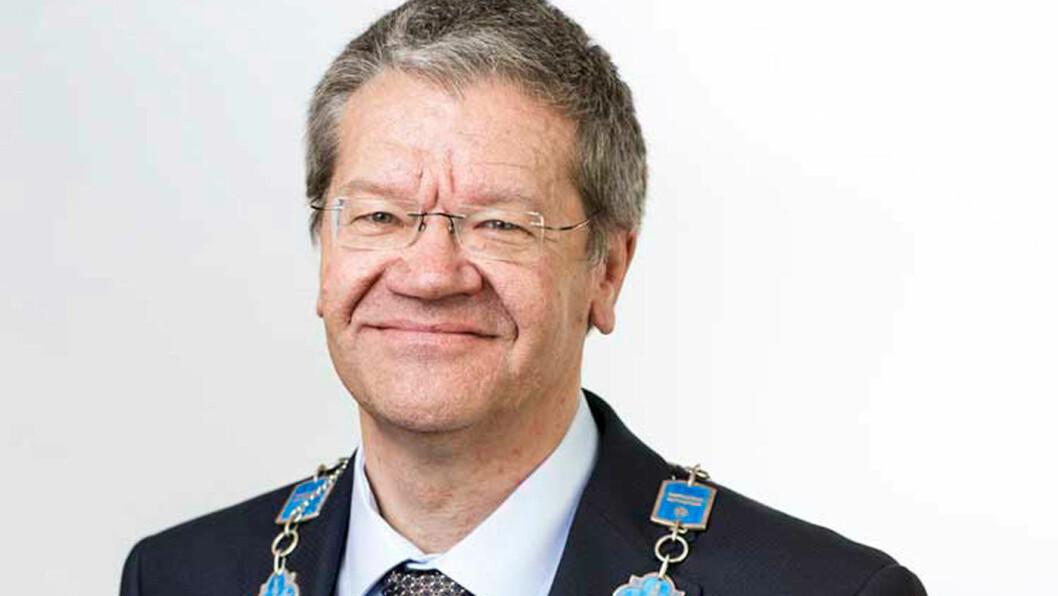 ORDFØRER: Arne-Christian Mohn i Haugesund.