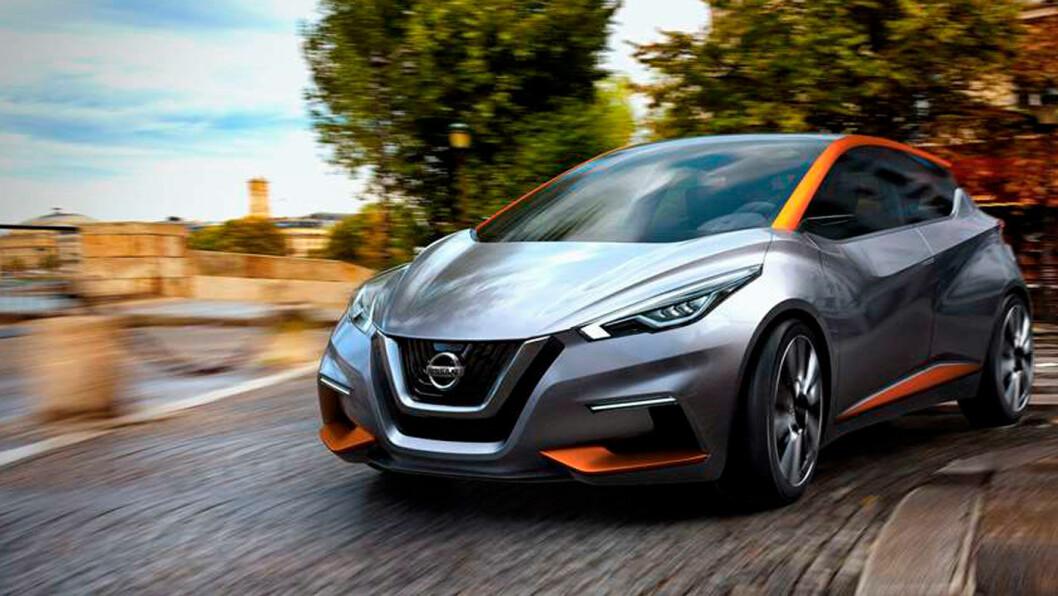 ELBIL-SUKSESS: Nye Nissan Leaf avdukes i Japan onsdag, men kommer ikke i salg her hjemme før over nyttår. Utseende likner mye på konseptbilen Sway. Foto: Nissan