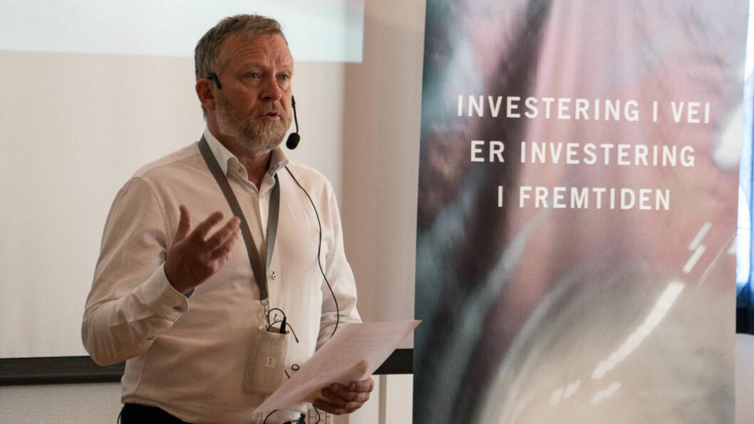 STATISTIKK-SJEF: Øyvind Solberg Thorsen, adm. direktør i Opplysningsrådet for Veitrafikken (OFV). Foto: Peter Raaum