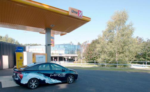 – Billigere å bygge infrastruktur for hydrogen enn elbil