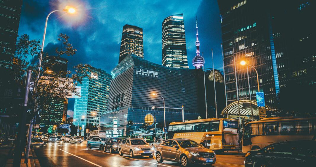 Bare marginal nedgang i bilsalget i Kina